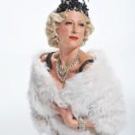 Faye Tozer as Lina Lamont in Singin' in the Rain - Photo credit Hugo Glendinning (427x640)