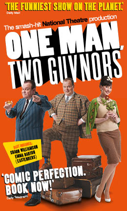 Theatre review: One Man Two Guvnors