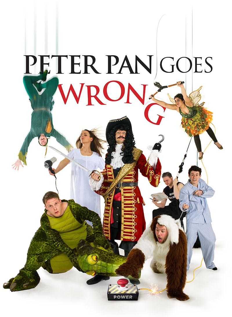 Theatre Review: Peter Pan Goes Wrong – on tour