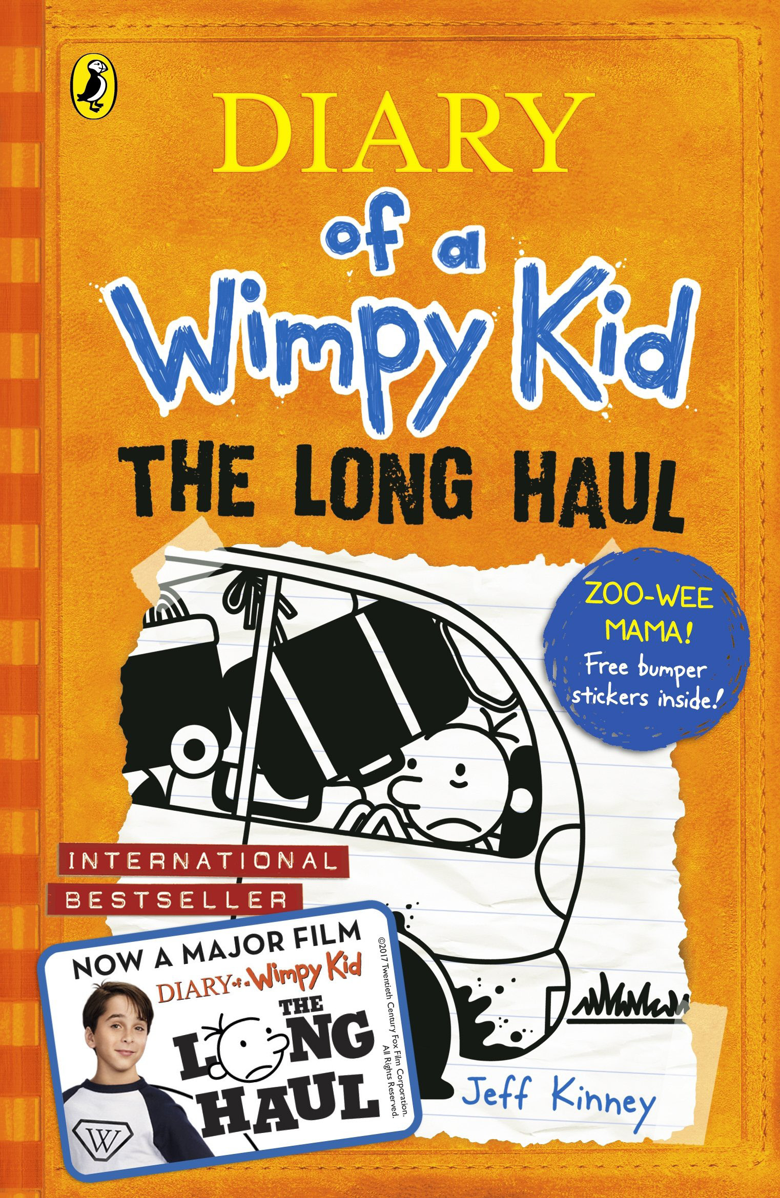 Book Review:  THE DIARY OF A WIMPY KID – THE LONG HAUL