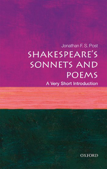 Book Review: SHAKESPEARE'S SONNETS AND POEMS: A VERY SHORT INTRODUCTION