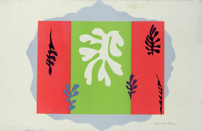 Original school prints/Henri Matisse, The Dancer, 1949.