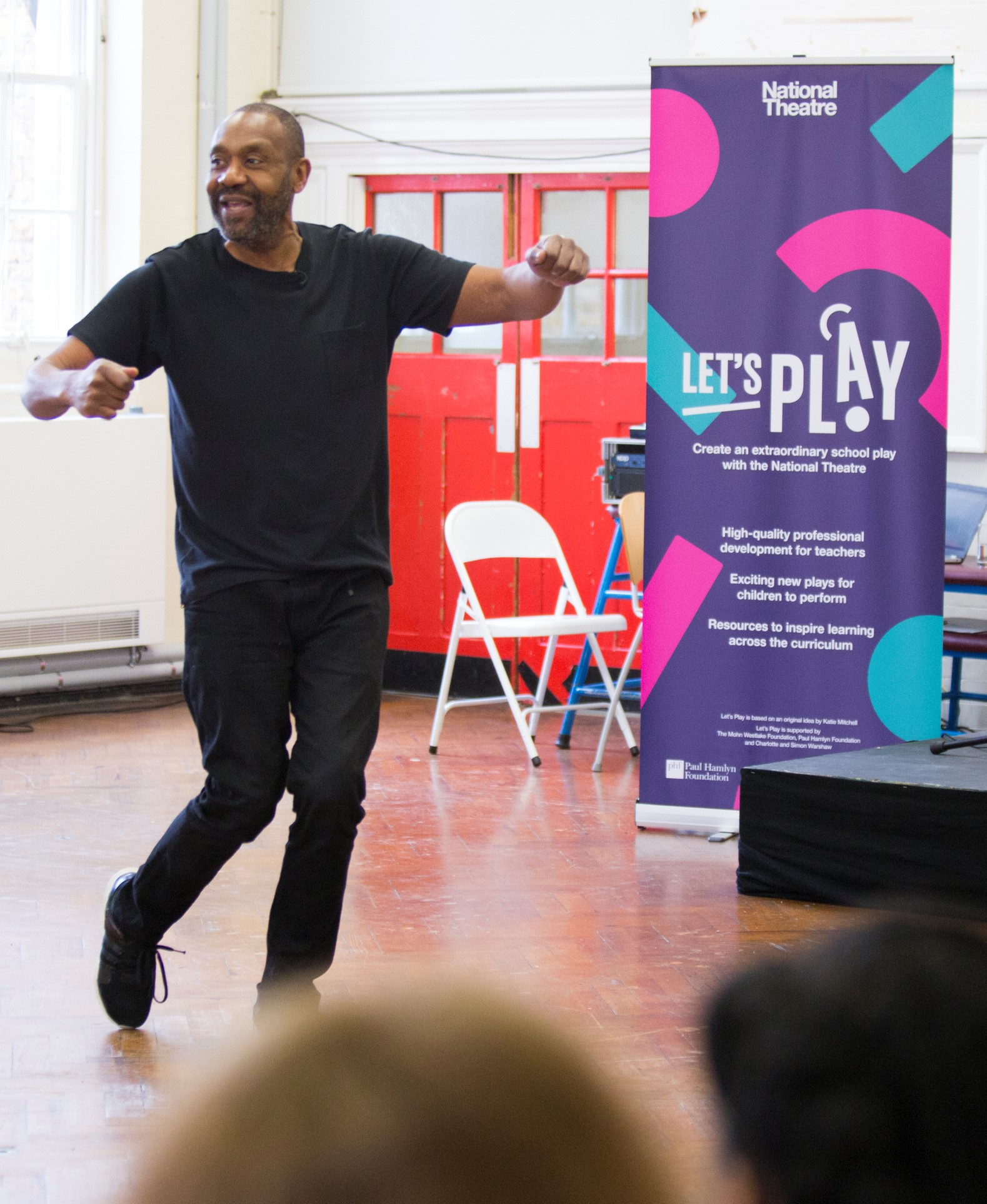 Sir Lenny Henry has helped launch Let's Play